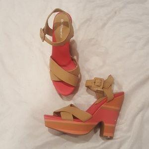 BCBGeneration Shoes - BcBGeneration Wedge Heel Sandals